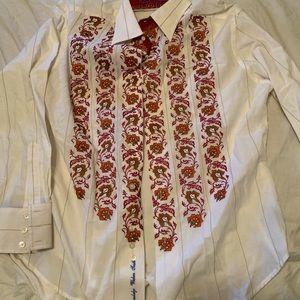 Robert graham shirt men's xl
